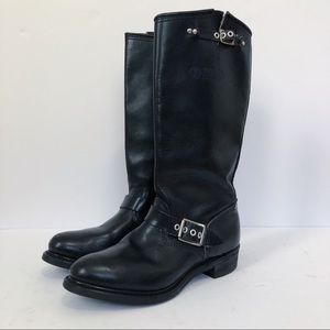 Shoes - BIKER BOOTS Motorcycle Boots